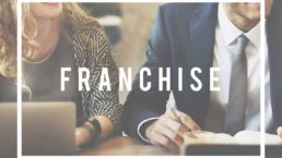 Franchising Business Idee Konzept